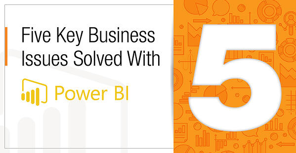 5 Key Business Issues Solved with Power Bi