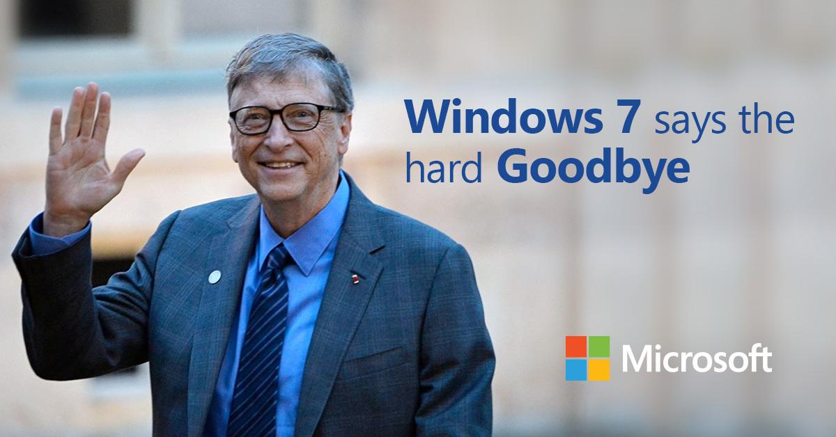 Windows 7 EOL is approaching soon.