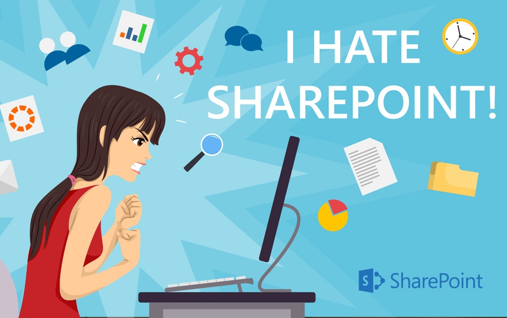 SharePoint isn't the problem, but it's only part of the solution.