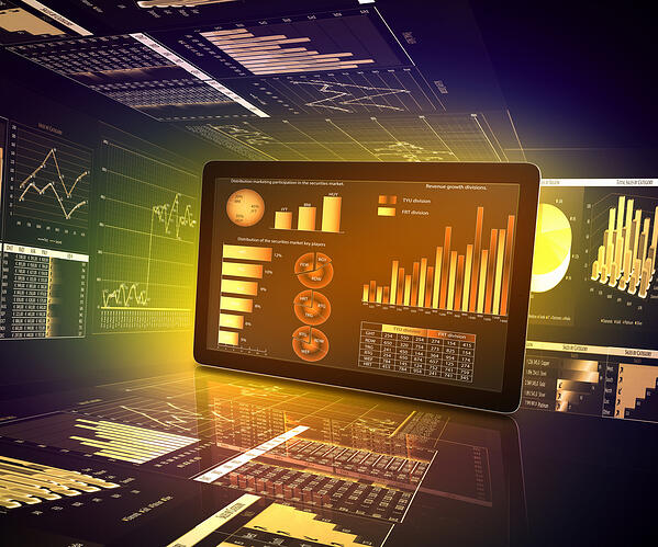 AI algorithms are used to analyze trade stocks