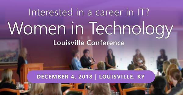 KiZAN will be at the Women in Tech Conference