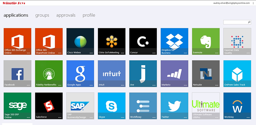 Azure User Application Portal