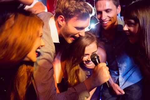 karaoke application by KiZAN and the IP team