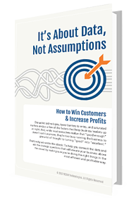 It's About Data, Not Assumptions ebook